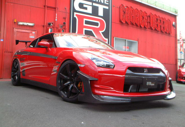 Garage Defend Nissan GT-R
