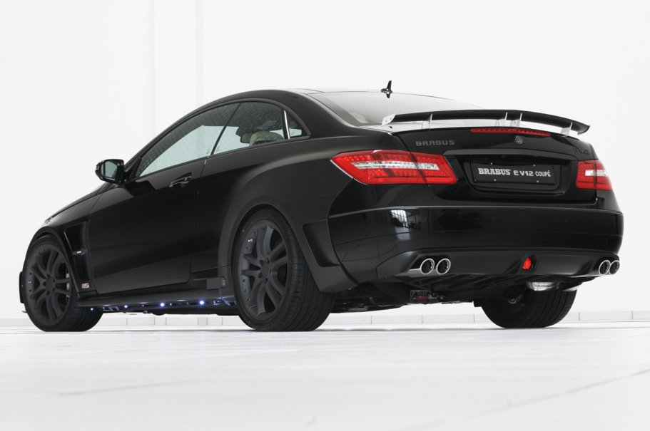 Coupe-ul vitaminizat: Brabus E V12 Coupe