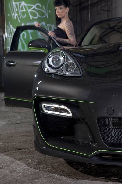 Hellboy - Porsche Panamera S by Edo Competition