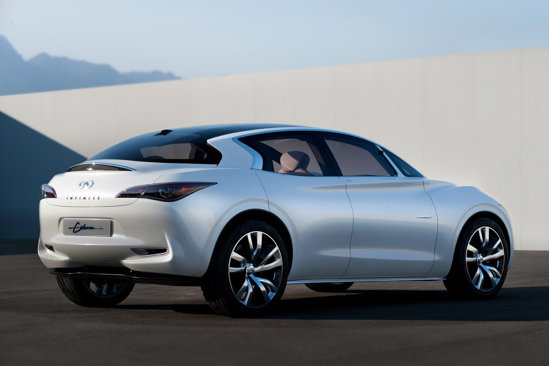 Infiniti Etherea are un design sofisticat si idei stilistice originale