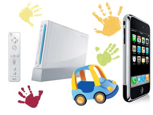 Castiga 4 console Wii si un Apple iPhone