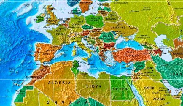 harta lumii Harta lumii pe care o cunoaştem este greşită. Ce nu apare pe ea harta lumii