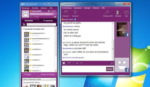 ''Yahoo! Messenger'' revine sub forma Yahoo Together