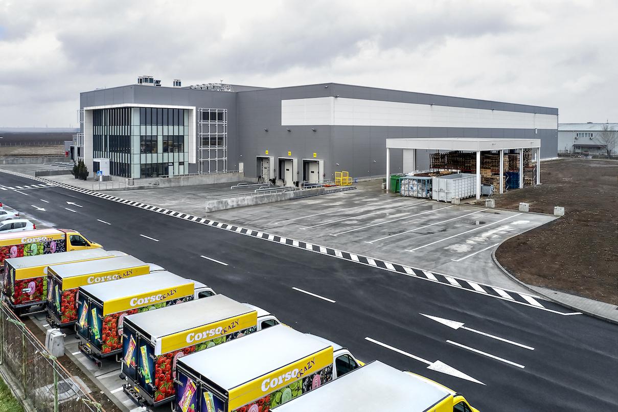Macromex investeşte 15 mil. euro într-un nou centru de distribuţie lângă Bucureşti, de 10.000 de metri pătraţi. Proiectul este finanţat de Alpha Bank şi de companie