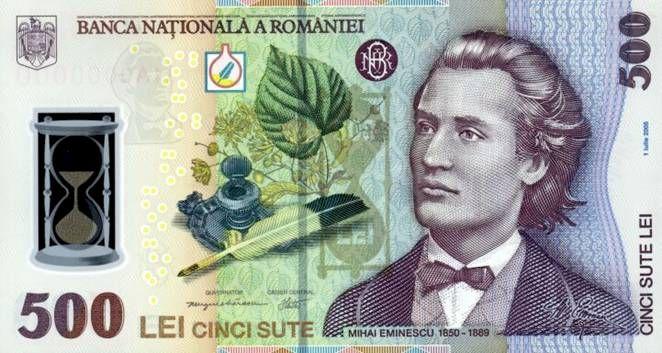 Eminescu, un bun indicator pentru inflaţie şi pentru creşterea cursului valutar