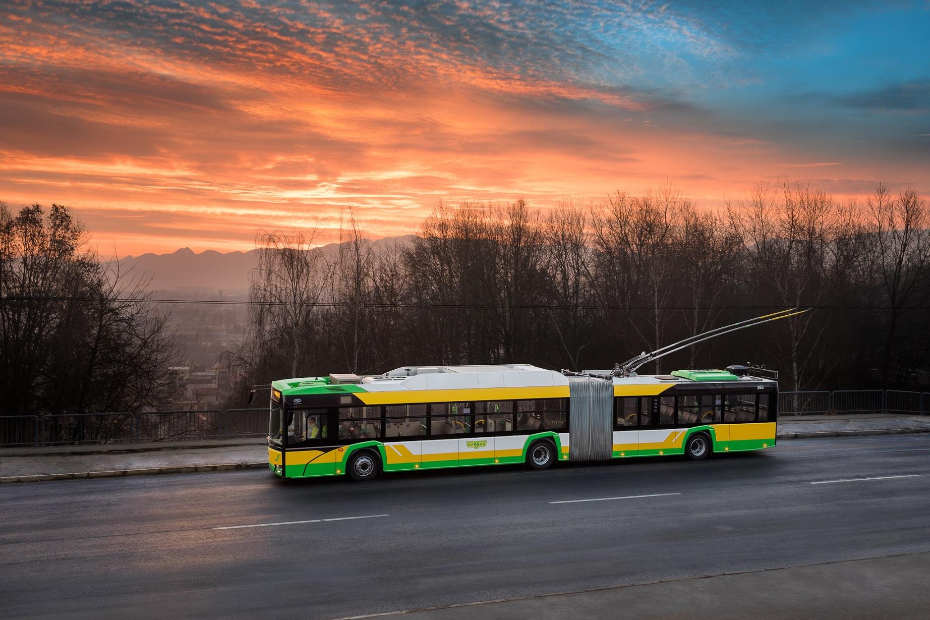 transportul în comun a fost suplimentat cu 25 de troleibuze noi