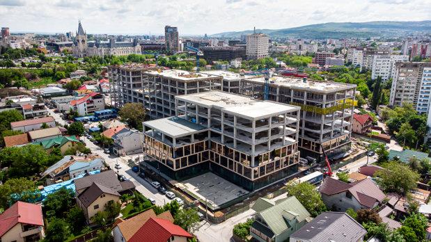 Grupul Iulius investeşte 35 mil. euro în infrastructură şi mobilitate urbană care să deservească viitoarea clădire Palas Campus din Iaşi