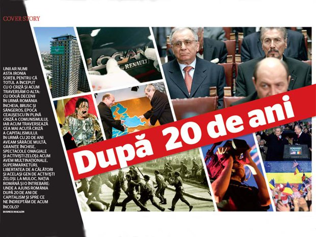 Business Magazin face retrospectiva a 20 de ani de capitalism