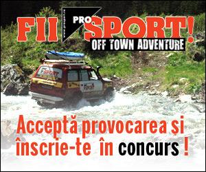 Castiga una din cele 27 de biciclete sau una din cele 10 invitatii  la ProSport Off Town Adventure