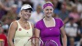 O jucătoare importantă, aproape eliminată de la Turneul Campioanelor. Cum s-a terminat meciul Wozniacki - Kvitova