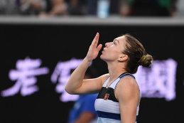FOTO & VIDEO | Nu se aştepta la aşa ceva! Ce a apărut pe internet imediat după victoria Simonei Halep la Australian Open