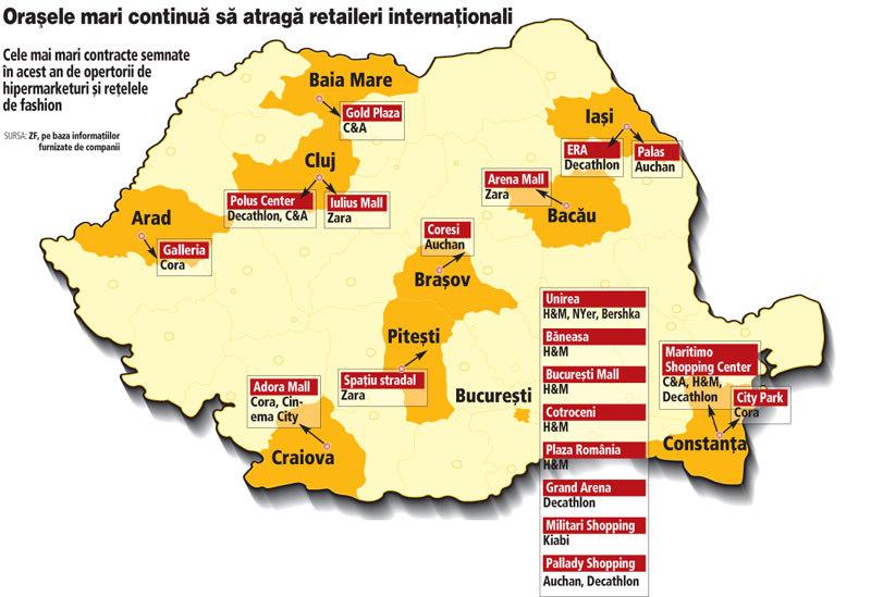 Harta Celor Mai Mari Contracte Din Retail Giganţii Au Ales