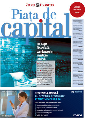 E-Paper: Piaţa de capital. Septembrie 2018