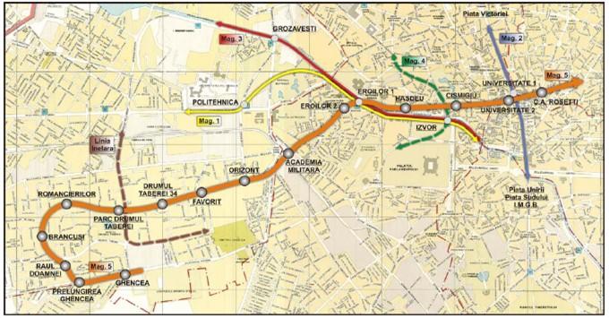 Control al Transporturilor la magistrala 5 de metrou ...  |Metrou Drumul Taberei