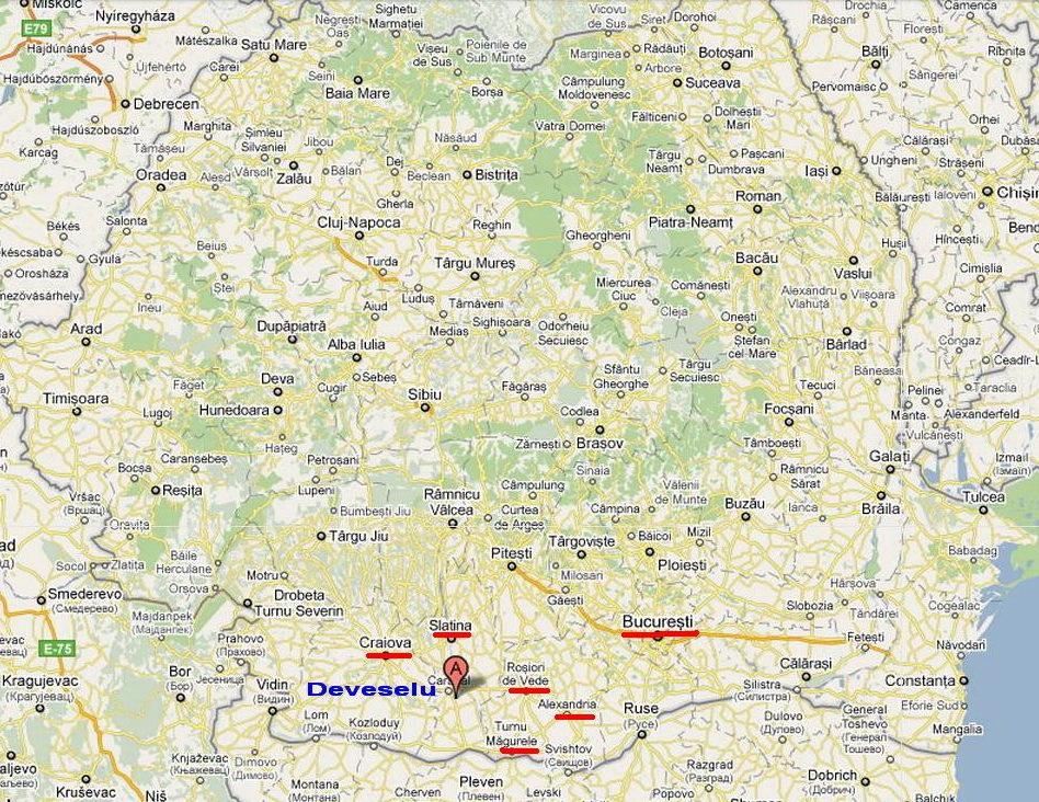Vedeţi Pe Harta Romaniei Unde Va Fi Amplasat Scutul Antirachetă De