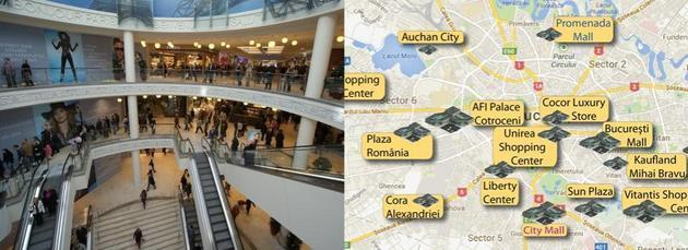 Harta Mall Urilor Din Romania