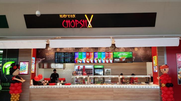 (P) Ready to Box Chopstix România redeschide locaţia din Braşov Coresi Shopping Resort după un proces de reamenajare
