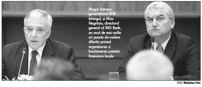 Negriţoiu, ING: Banca Naţională nu a folosit niciuna dintre pârghiile prin care putea scoate economia din criză
